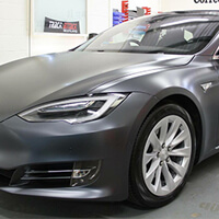 Tesla Vinyl Wrapping Scotland